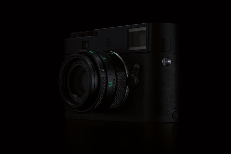Leica Stealth Edition M Monochrom Camera 15750 usd 125 glow in the dark exclusive limited rag bone marcus wainwright matte black green