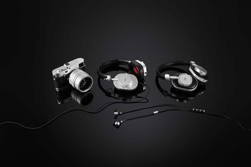 Leica Master & Dynamic 0.95 Silver Collection Headphones Cameras Leica Audio Music