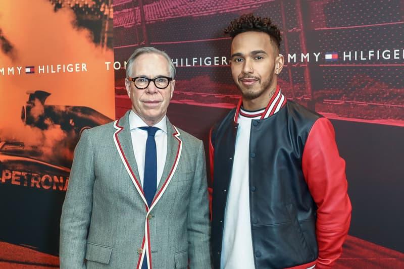 Lewis Hamilton Tommy Hilfiger New Global Ambassador Formula 1