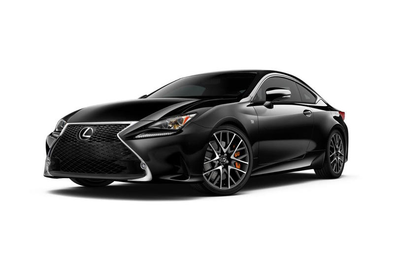 Lexus RC F Sport Black Line Limited Edition 650 Black RC Coupes Car Dealership Hybrid Deals