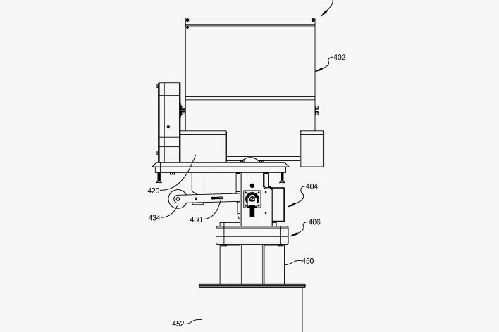Little Caesars Pizza Making Robot Patent