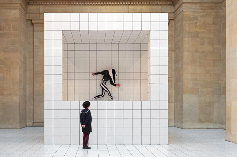 "Loewe Creative Director Jonathan Anderson Anthea Hamilton ""The Squash"" Installation Tate London Britian Arts Design Costume Designer Ideas"