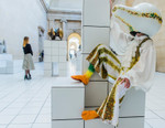 """Jonathan Anderson x Anthea Hamilton Link Up for """"The Squash"""" Installation"""
