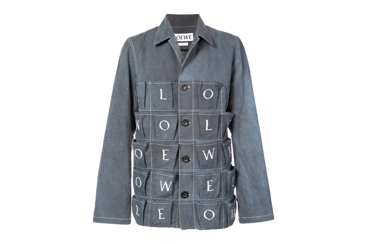 16126b23b Loewe s Letters Jacket Has More Pockets Than You ll Ever Need