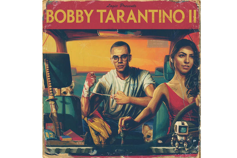 Logic Bobby Tarantino II Mixtape stream  Big Sean Wiz Khalifa 2 Chainz Marshmellow 6ix supreme the north face