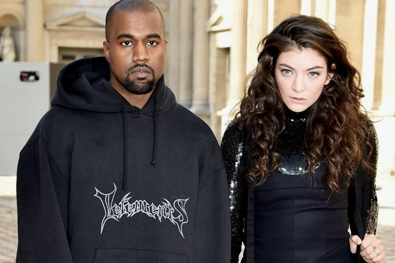 Lorde Kanye West Love Lockdown Runaway covers Chicago concert performance march 27 2018