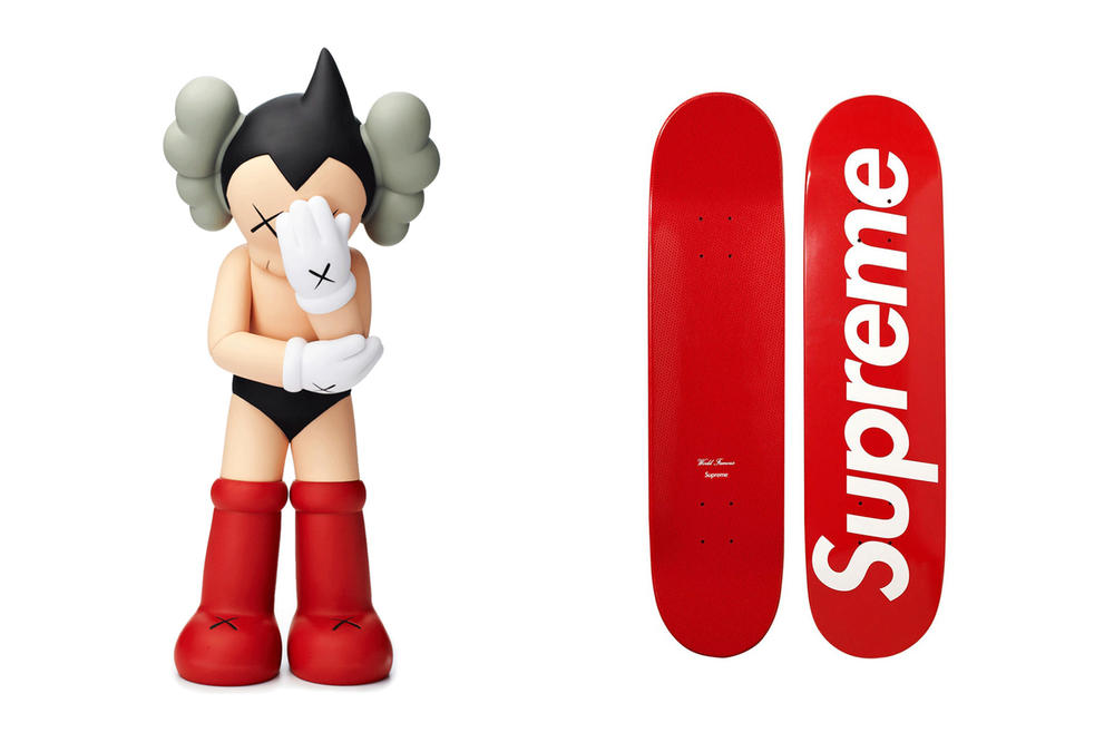 kaws supreme heritage auctions madchild artwork art collectibles