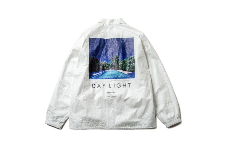 Magic stick hiroshi nagai japan collaboration illustration graphic spring summer 2018 collection jacket shirt bag print March 30 31 2018 drop release date info lookbook