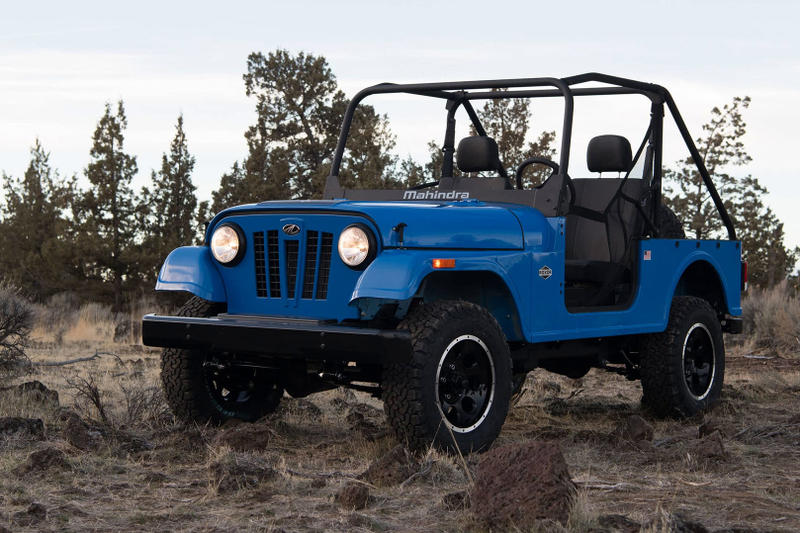 Mahindra Roxor Jeep Off Road United States Detroit Tractors 4x4 Willys Jeep CJ Miniature Car