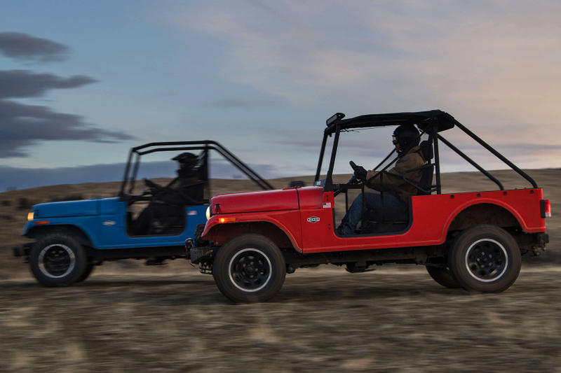 Mahindra Roxor Jeep Off Road United States Detroit Tractors 4x4 Willys Jeep CJ Miniature Car
