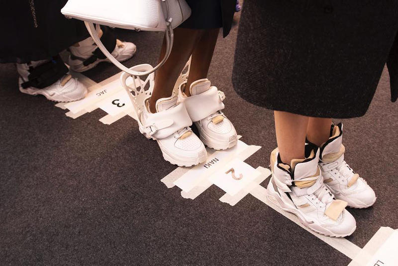 Maison Margiela Fall Winter 2018 Chunky Sneakers runway paris fashion week