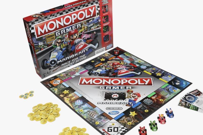 Mario Kart Monopoly Gamer Edition Nintendo Hasbro