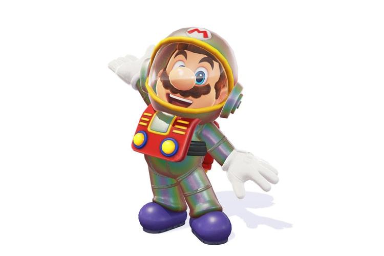 Super Mario Odyssey Hypebeast