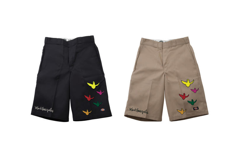 Mark Gonzales Dickies collaboration spring summer 2018 japan artwork drop release exclusive collection