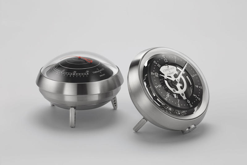 MB&F Fifth Element clock barometer thermometer hygrometer L'Epée