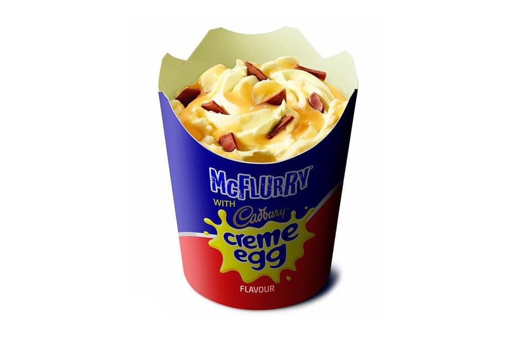 McDonalds Cadbury Creme Egg McFlurry 2018 australia easter release date info drop