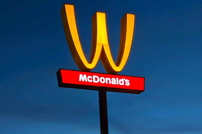 McDonald's Flipping Golden Arches upside down Women