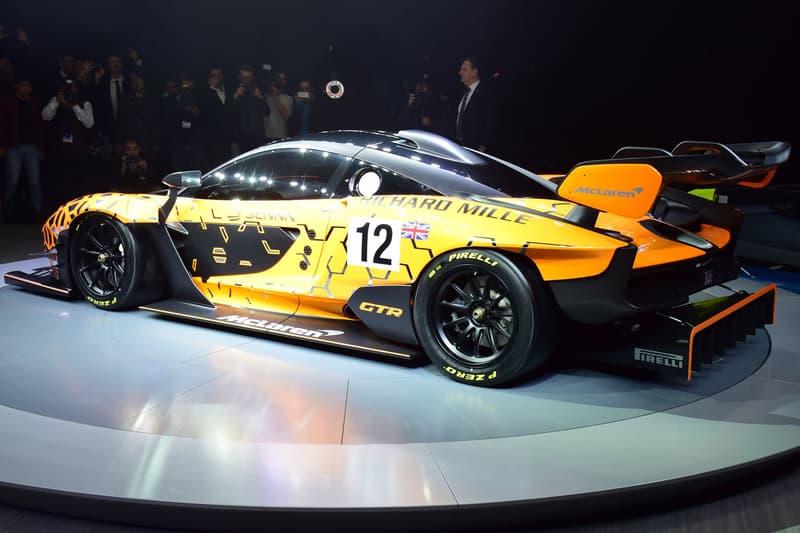 McLaren Senna GTR Concept Design P1 GTR 825 HP Horsepower 2019