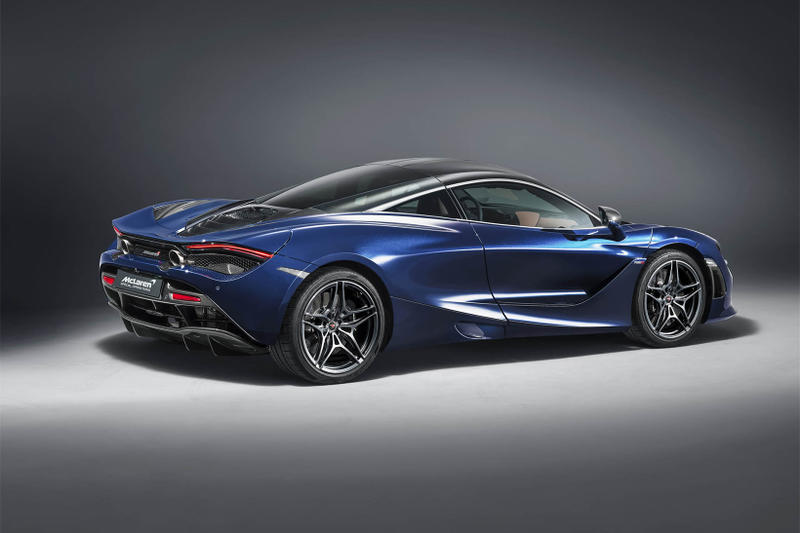 McLaren Special Operations 720S Atlantic Blue geneva motor show 2018 supercar