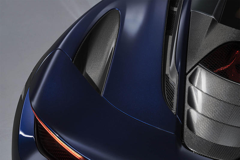 McLaren Special Operations 720S Atlantic Blue geneva motor show 2018 supercar