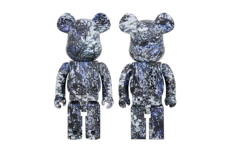 Mika Ninagawa Medicom Toy YOSAKURA BEARBRICK collaboration march 24 2018 release date info drop collection capsule accessories floral flower pattern 100 400 1000 percent