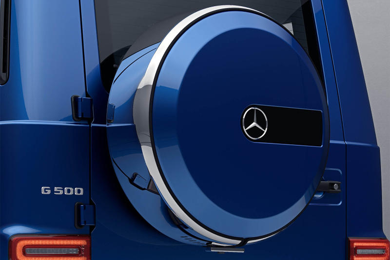Mercedes Benz G Class Stainless Steel Package option 2018 car body detailing tease 500 v8
