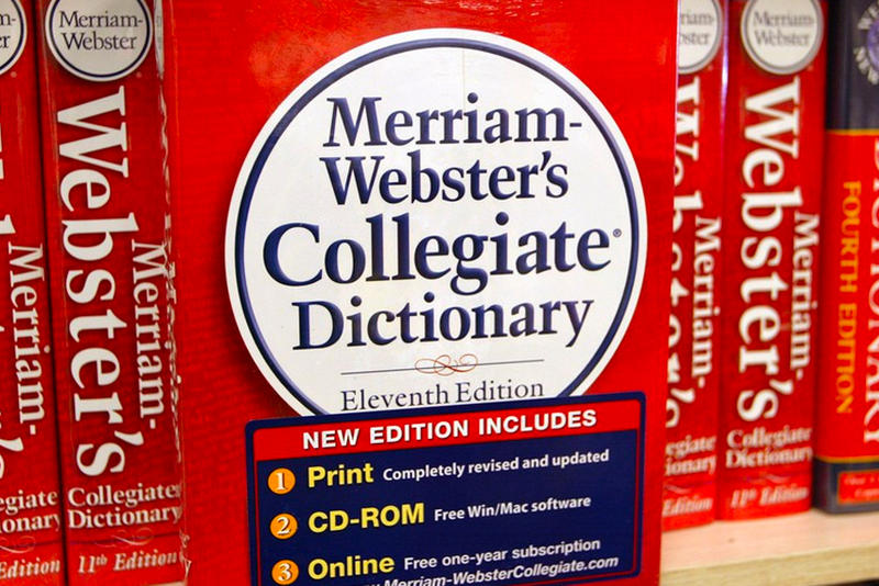 Merriam-Webster 2018 Dictionary Additions New Words