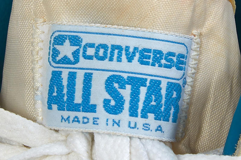 Michael Jordan Game Worn Converse Fastbreak Auction White Light Blue
