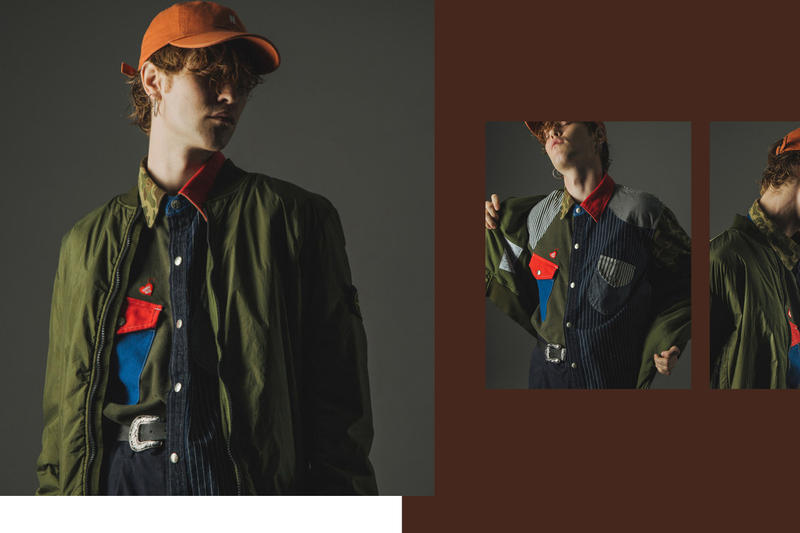 A Study in Color Editorial MISBHV Champion Reverse Weave Human Made HBX
