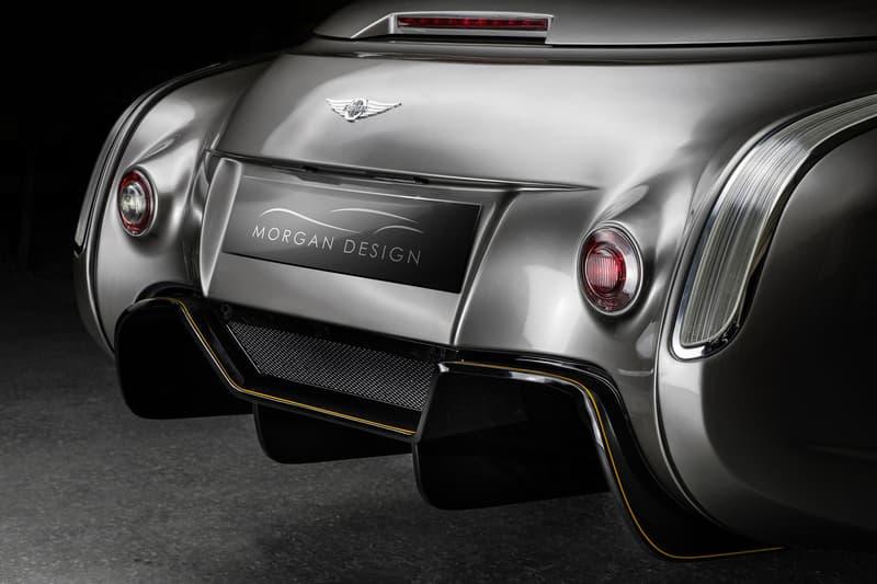 Morgan Motor Company Bespoke Aero GT Sports Car Geneva Motor Show 2018