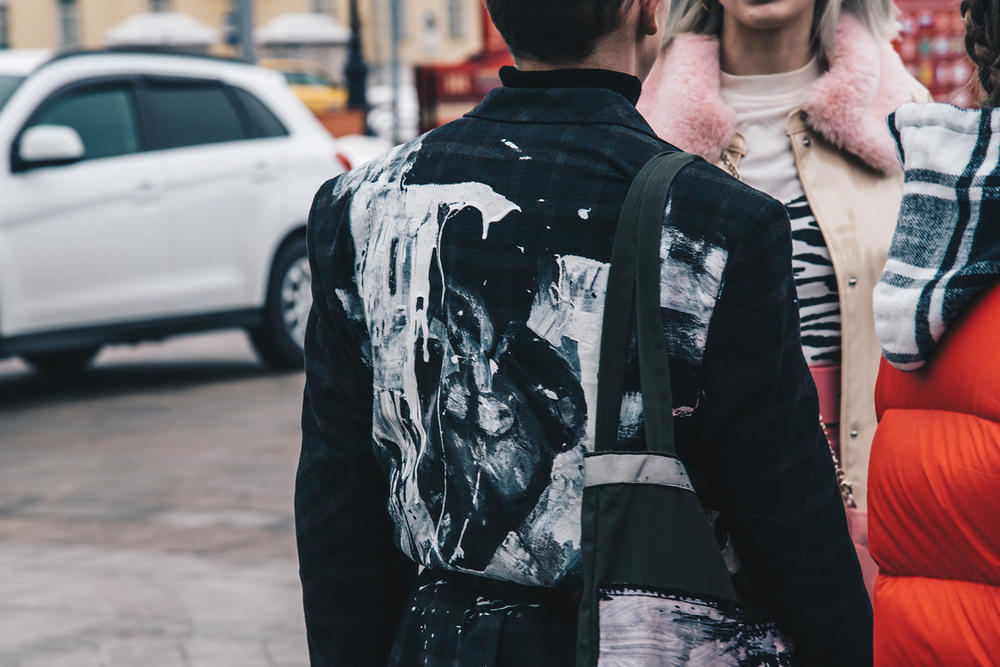 Moscow Fashion Week Fall/Winter 2018 Street Snaps Round One Street Style