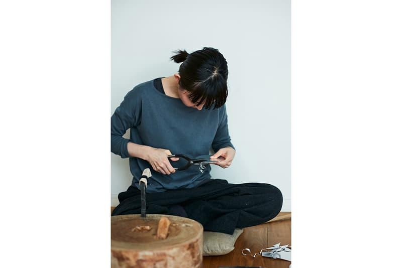 Naho Kamada Metalworker Studio Tokyo Japan Japanese Handmade Modern Metal Pieces