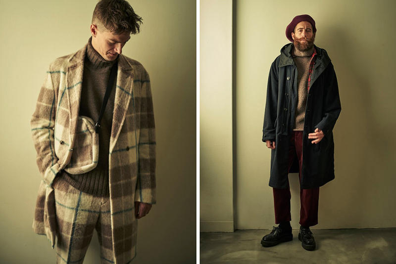 NAISSANCE Fall Winter 2018 Lookbook collection release date info drop japan