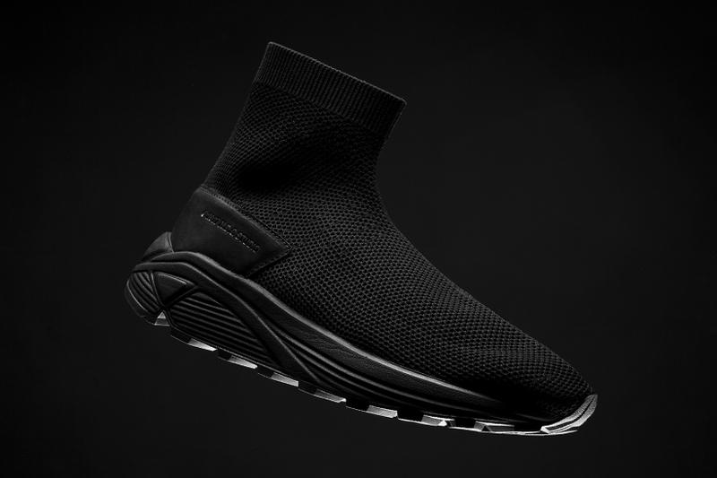 NDG Studio 2084 Sock Sneaker Triple Black march 9 2018 release date info drop sneakers shoes footwear limited