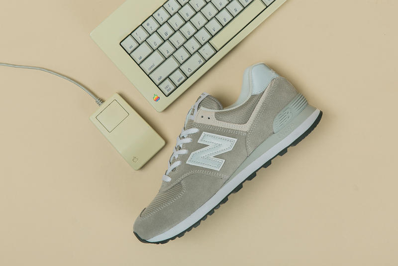 New Balance 574 Deadstock Editorial Apple Mac Steve Jobs Issey Miyake