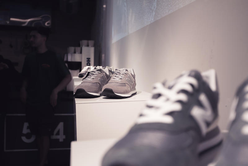 New Balance Grey Day Celebration Recap boston sneaker running lifestyle gray 574 sports