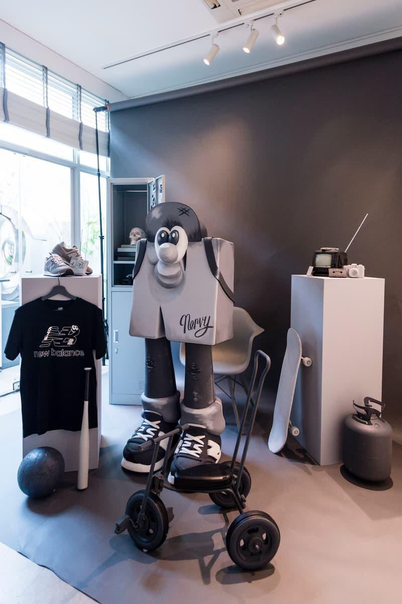 new balance singapore grey day recap greyscale running boston sneakers runner art style fashion kelly Kim Dawn Koh Tell Your Children