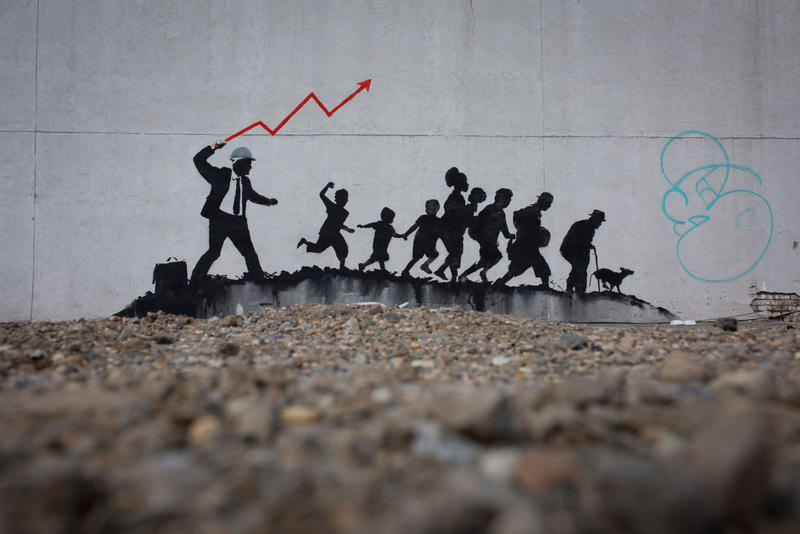 New Banksy Murals Appear in New York