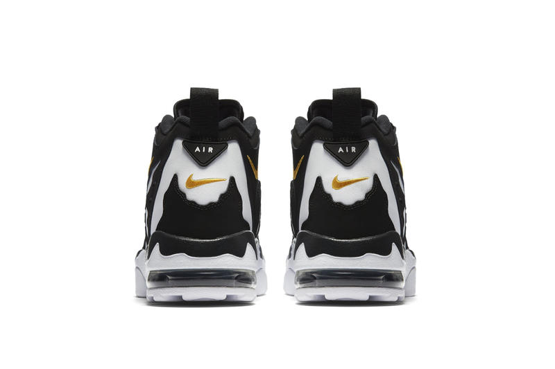 Nike Air DT Max 1996 Sneaker Deion Sanders Air Max Day Cow Print Black White Mens Shoes Basketball