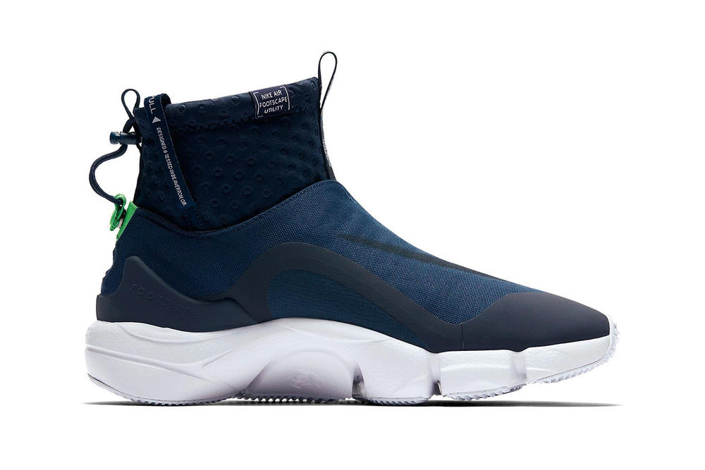 Nike Air Footscape Mid Utility spring 2018 release info new colorways purchase