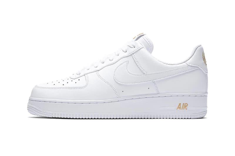 08eb7af8bcee Nike Air Force 1 Low Laurel Wreath logo spring 2018 sneakers footwear