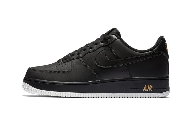Nike Air Force 1 Low Laurel Wreath logo spring 2018 sneakers footwear
