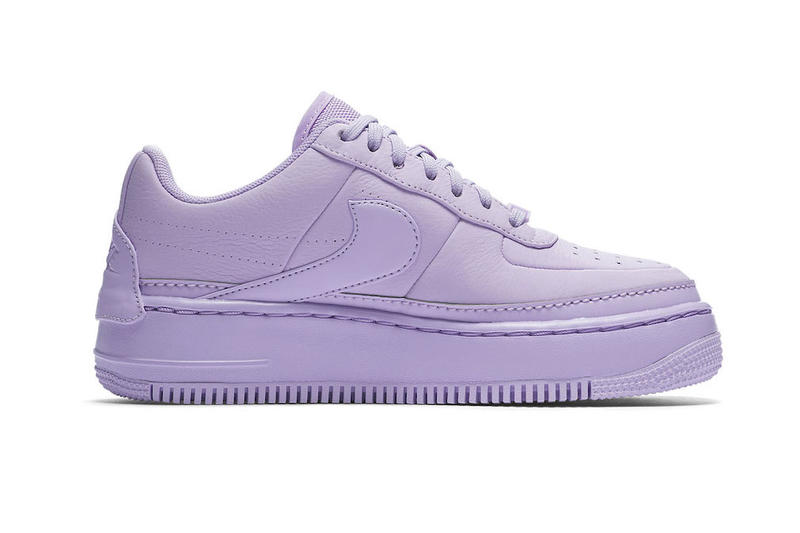 Nike Unveils Air Force 1 Jester Violet Mist sneakers footwear