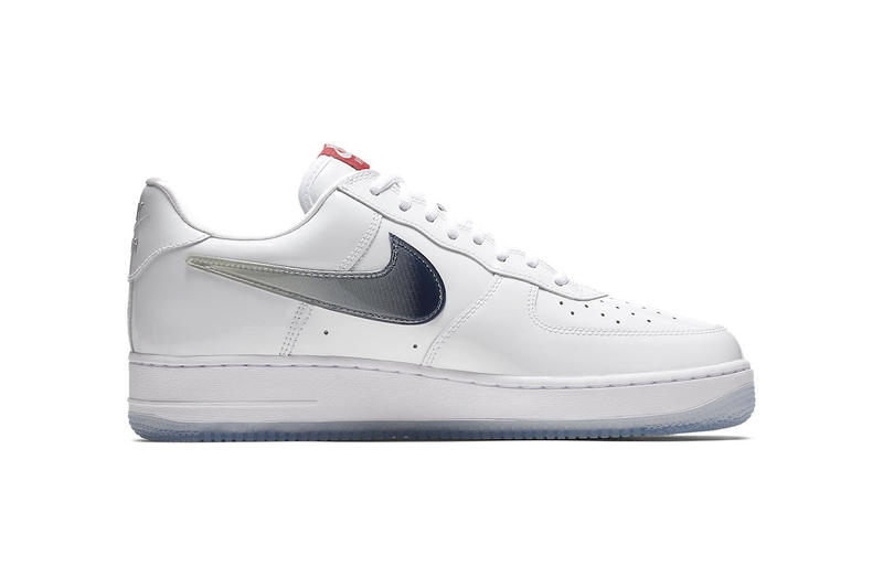 Nike Air Force 1 Low Taiwan 2018 Retro official images white blue red icy release date info drop sneakers shoes footwear