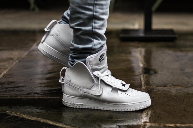 Nike Air Force 1 PSNY White Public School New York Closer Look friends family exclusive unreleased high white leather collaboration designer