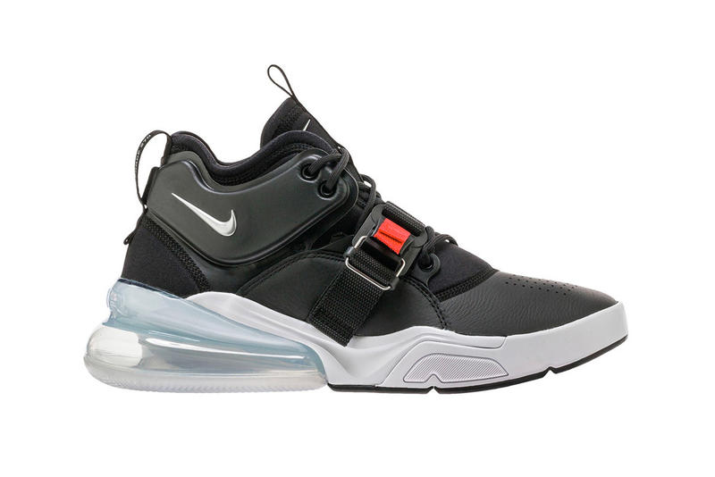 9dd7ec04720 Nike Air Force 270 Black Metallic Silver release date info purchase