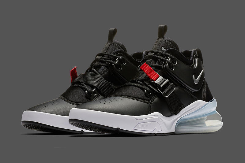 e934720c27 Nike Air Force 270 Bred Colorway Release black red sliver air max day air  force 180
