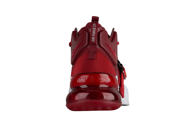Nike Air Force 270 Red First Look release date info sneakers footwear