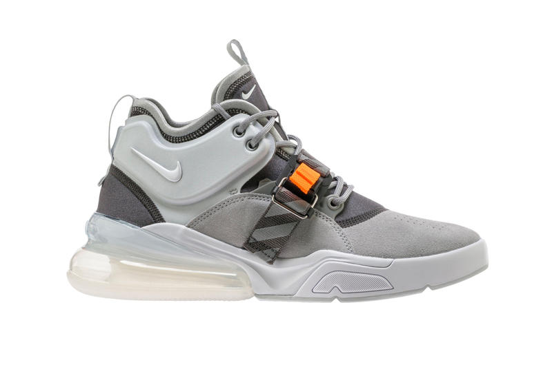 Nike Air Force 270 Wolf Grey/Sail Release Date info purchase