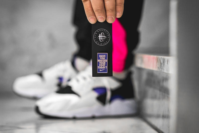 newest 0bf61 db02e Nike Air Huarache 91 Purple Punch release info sneakers footwear